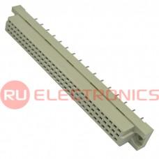 Разъём DIN RUICHI DIN41612 3*32 32 розетка, 32 контакта