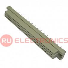Разъём DIN RUICHI DIN41612 3*32 48 розетка, 48 контактов