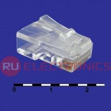Разъём RJ RUICHI RJ45 (TP-10P10C) UTP, 1 гнездо