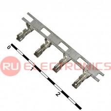 Разъём питания низковольтный RUICHI HB наклон 2.0 мм, 4 контакта