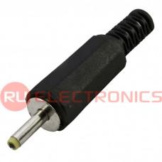 Разъём питания штырьковый SZC-0026a/2.5*0.7 мм, на кабель