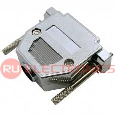 Корпус к разъёму D-SUB RUICHI METAL CASE (DNT-25C), металл