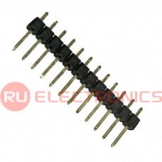 Штыри для плат RUICHI PLS-12, шаг 2.54 мм
