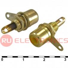 Разъём RCA RUICHI 7-0234Y GOLD/RS-115G, 50 В