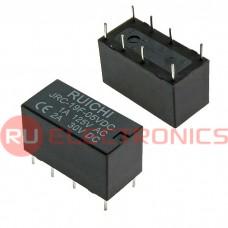 Электромагнитное реле RUICHI 4078 5VDC 2A, DPDT