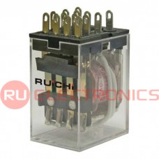 Электромагнитное реле RUICHI 4453(18F)-4 (HH54P) 5А, 4C: 4PDT