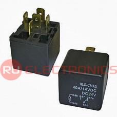 Электромагнитное реле RUICHI CMA3 24VDC (792H) 30A, Form C (on-on)