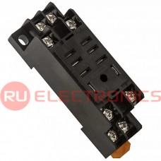 Колодка для реле RUICHI PTF08A-02 колодка для 13F-1(2), 8 клемм