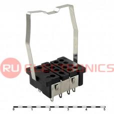 Колодка для реле RUICHI 18F-4Z-A1, PCB келемма