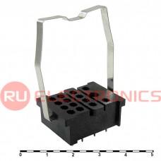 Колодка для реле RUICHI 18F-4Z-A2, PCB келемма
