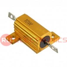 Мощный постоянный резистор RUICHI RX24 10W 5% 5R, алюминиевый корпус