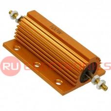 Мощные постоянные резистор RX24 100W 5% 20R, алюминиевый корпус