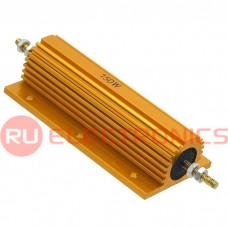 Мощный постоянный резистор RUICHI RX24 150W 5% 75R, алюминиевый корпус