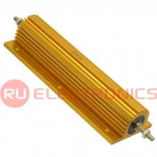 Мощный постоянный резистор RUICHI RX24 200W 5% 300R, алюминиевый корпус