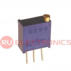 Подстроечный резистор RUICHI 3296W 100K, 25 оборотов