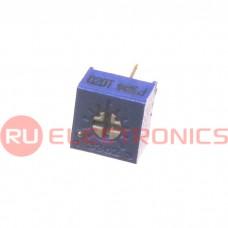 Подстроечный резистор RUICHI 3362P 10K, угол поворота 240