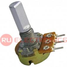 Потенциометр RUICHI 16K1 F 100k, угол поворота 300