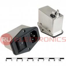 Сетевой фильтр RUICHI DL-1DZ2KR 1A. 250V, 2,2 нФ