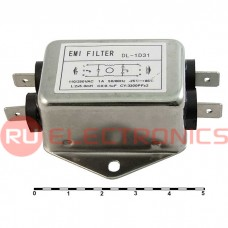 Сетевой фильтр RUICHI DL-1D31  1A. 250V, 3,3 нФ