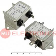 Сетевой фильтр RUICHI DL-2D3 2A. 250V, 3,3 нФ