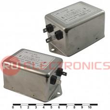 Сетевой фильтр RUICHI DL-8T1 8A. 250V, 4,7 нФ