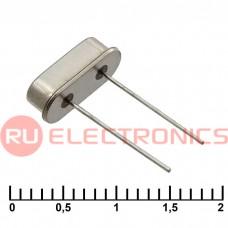 Кварцевый резонатор RUICHI HC49S 12 MHz 16pF 30ppm, монтаж THT