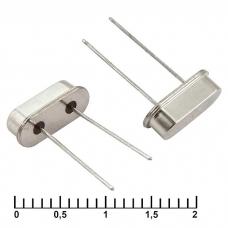 Кварцевый резонатор HC49US 7.372800MHz 16pF 30ppm, монтаж THT