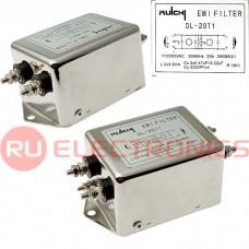 Сетевой фильтр RUICHI DL-20T1, 20 А