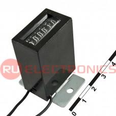 Счетчик импульсов RUICHI JJ-126 12 VDC, 6-разрядный