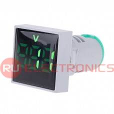 Цифровой LED вольтметр переменного тока RUICHI DMS-123