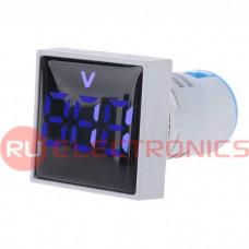 Цифровой LED вольтметр переменного тока RUICHI DMS-124