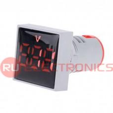 Цифровой LED вольтметр переменного тока RUICHI DMS-125