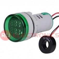 Цифровой LED вольтамперметр переменного тока RUICHI DMS-233