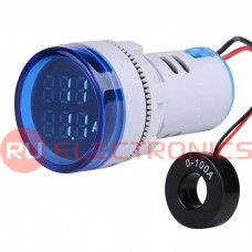 Цифровой LED вольтамперметр переменного тока RUICHI DMS-234
