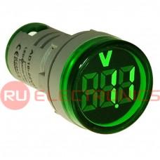 Цифровой LED вольтметр переменного тока RUICHI DMS-133