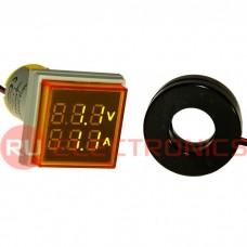 Цифровой LED вольтметр переменного тока RUICHI DMS-202