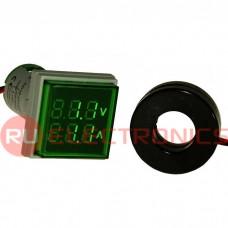 Цифровой LED вольтметр переменного тока RUICHI DMS-203