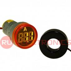 Цифровой LED амперметр переменного тока RUICHI DMS-212
