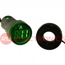 Цифровой LED амперметр переменного тока RUICHI DMS-213
