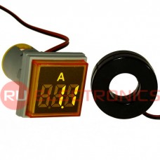 Цифровой LED амперметр переменного тока RUICHI DMS-222