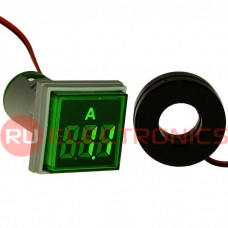 Цифровой LED амперметр переменного тока RUICHI DMS-223
