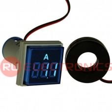 Цифровой LED амперметр переменного тока RUICHI DMS-224
