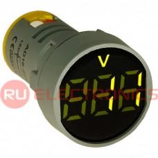 Цифровой LED вольтметр переменного тока RUICHI DMS-102