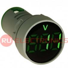 Цифровой LED вольтметр переменного тока RUICHI DMS-103