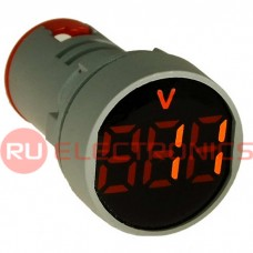 Цифровой LED вольтметр переменного тока RUICHI DMS-105