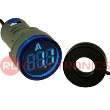 Цифровой LED амперметр переменного тока RUICHI DMS-214