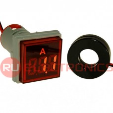 Цифровой LED амперметр переменного тока RUICHI DMS-225