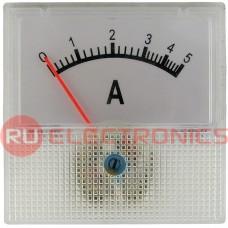 Амперметр RUICHI 5А (40х40), горизонтальный