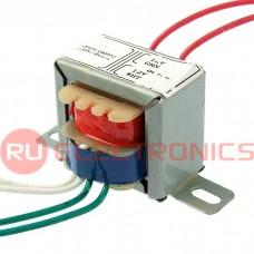 Трансформатор 50гц RUICHI EI28*19 220v to 2x12v 1.5W, крепление на 2 винта