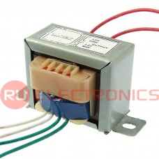 Трансформатор 50гц RUICHI EI41*20 220v to 2x12v 4W, крепление на 2 винта